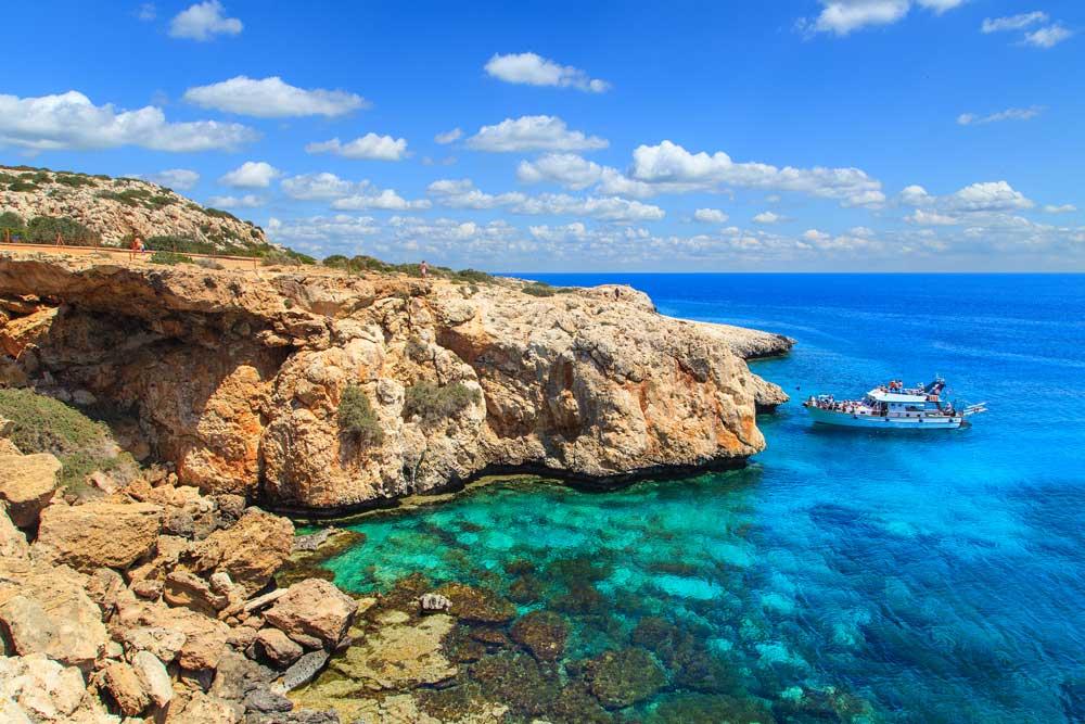 De kust van de Canarische Eilanden